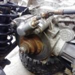Drive train brake
