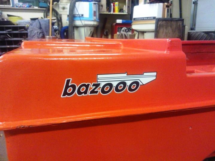 Bazoo Decal