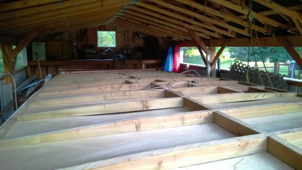 New rafters