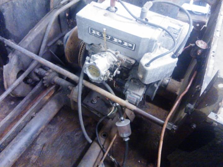 Rupp 340 cc motor