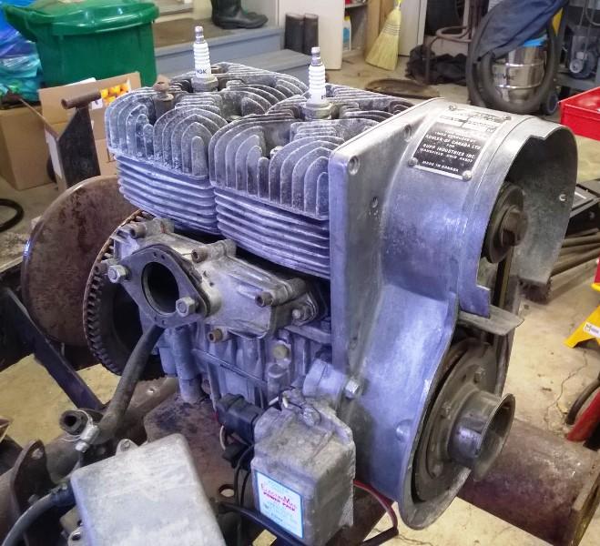 Rupps / Kohler motor