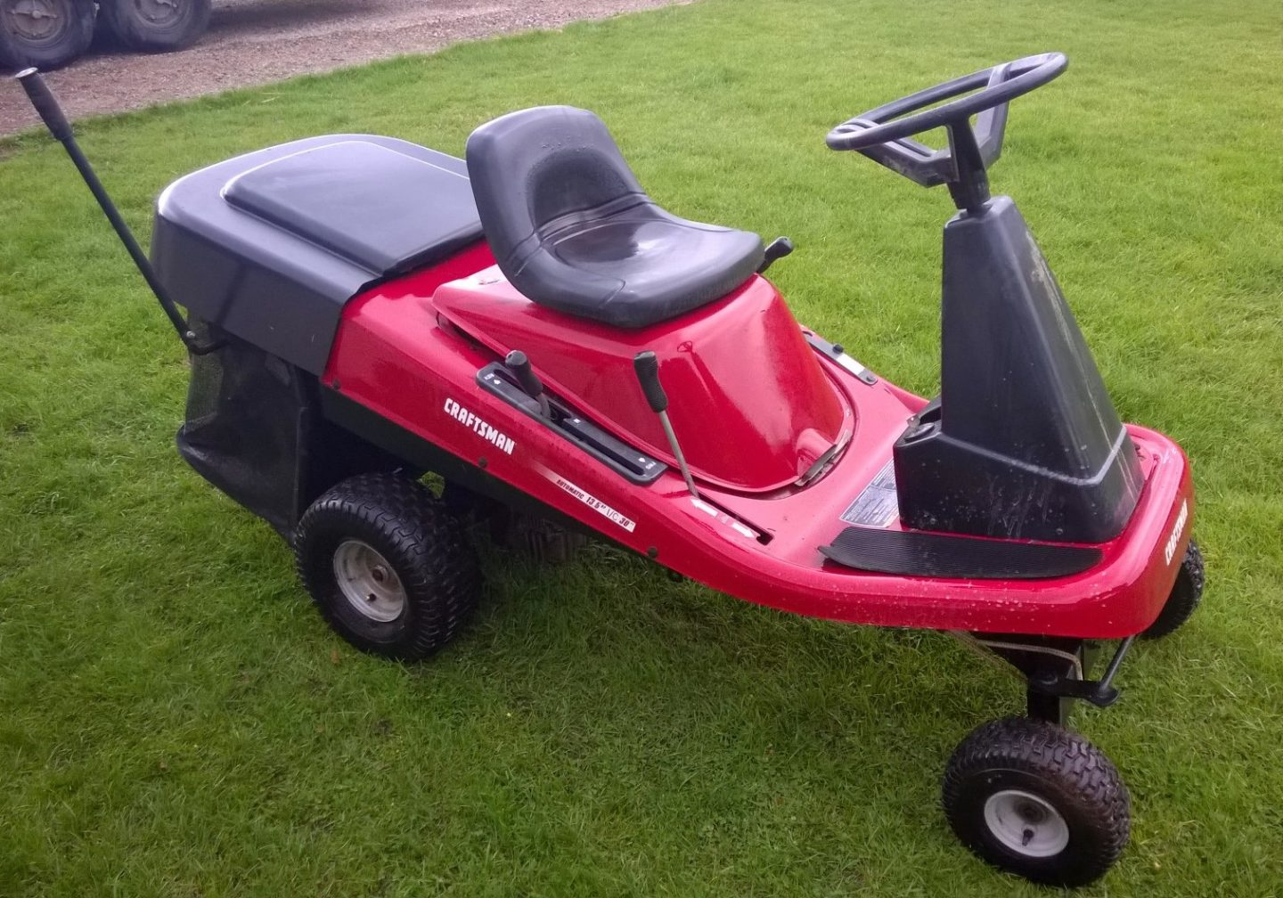Craftsman mid engine mower